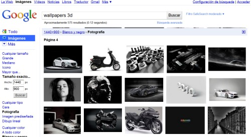 Bsqueda de imgenes en Google