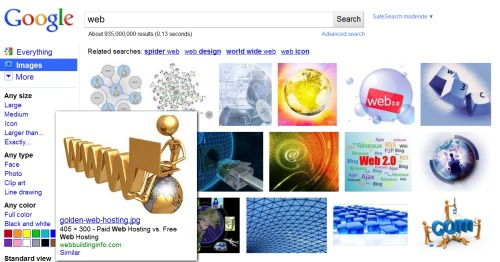 Google image search se renueva