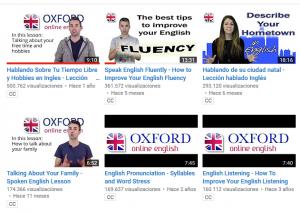 Videos de Oxford Online English