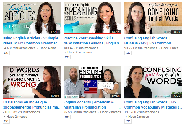 Videos de mmmEnglish